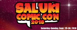Saluki Comic Con 2018 - Vince Churchill @ Southern Illinois University, Student Ballrooms